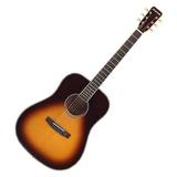 星臣(Starsun) DF60 41寸单板圆角民谣吉他(日落色)
