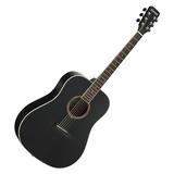星臣(Starsun) DG220-P 41寸初学民谣吉他  圆角入门木吉他(黑色亮光)