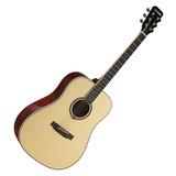 星臣(Starsun) DG220-P 41寸初学入门木吉他 圆角民谣吉他 (原木亮光色)