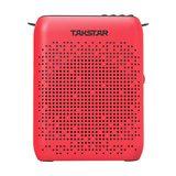 得胜(TAKSTAR) E220 教师/导游多功能蓝牙便携扩音器小蜜蜂 (红色)