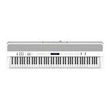 罗兰(Roland) FP-90  88键全配重锤便携式智能数码电钢琴 舞台演奏乐队专业电钢(白色)