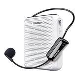 E300W 教师导游专用便携式无线扩音器 白色