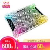 客所思(XOX) KX4究极版透光全硬件直播K歌声卡 (白色)
