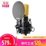 得胜(TAKSTAR) PC-K550P 电容式录音麦克风