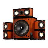 惠威(HiVi) M20-5.1MKII 电脑电视多媒体5.1家庭影院音响 hifi木质有源音箱(一套)