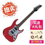 依班娜(Ibanez) GRX150 双单 双拾音电吉他 (红色)
