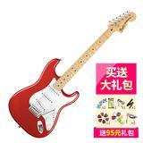 芬达(Fender) 电吉他品牌011-5602-309 美特 STRAT 枫木指板 电吉他 (苹果红)