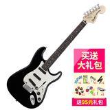 斯奎尔(Squier-Fender) 030-0510-506 SQ 豪华 STRAT HOT RAILS  电吉他 (黑色)