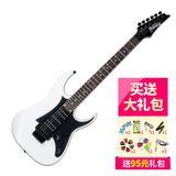 依班娜(Ibanez) 电吉他品牌 GRG250P 双摇电吉他 (白色)