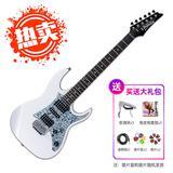 依班娜(Ibanez) GRX150 双单 双拾音 电吉他 (白色)