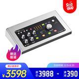 雅马哈UR28M声卡搭配舒尔KSM32 SL麦克风 录音套装