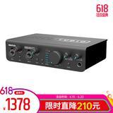 美派(MIDIPLUS) STUDIO 2 PRO 声卡搭配AKG C3000麦克风 个人录音套装