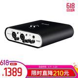 艾肯Duo44 Live声卡搭配得胜PC-K850麦克风 个人K歌直播套装