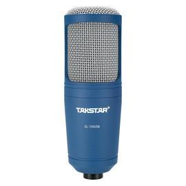 得胜(TAKSTAR) GL-100USB 旁述式录音麦克风 自带声卡
