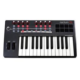 诺维逊(Novation) Nocturn keyboard 25 25键MIDI键盘 带控制器 给你方便的MIDI控制