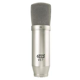 麦克思乐(MXL) V87 电容式大振膜录音麦克风