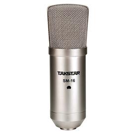得胜(TAKSTAR) SM-16 旁述式录音麦克风(适用网络K歌录音)