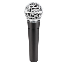 舒尔(SHURE) SM58-LC 动圈式演出麦克风  直播舞台演出家用有线话筒(标配不含线材)