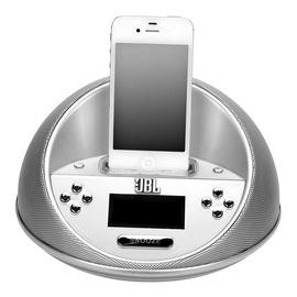 JBL ONTIME MICRO迷你准时 苹果ipod/iphone4s音响 (银色)