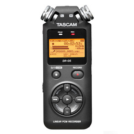 TASCAM DR-05 立体声数码录音机/录音笔 中文菜单(原型号已停产,替换型号:DR-05X)