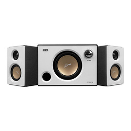 惠威(HiVi) M10 2.1 多媒体音箱 白色