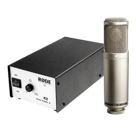 罗德(RODE) 澳大利亚进口 K2 电容式电子管录音麦克风 质保十年
