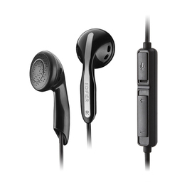 漫步者(Edifier) K180  带线控带麦 游戏低音便携式耳塞 (黑色)