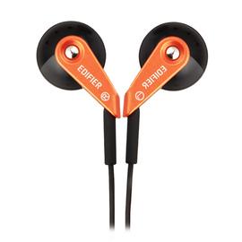 漫步者(Edifier) H185 低频出色 重低音时尚炫彩 立体声耳塞 (赤金)