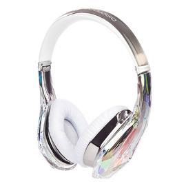 魔声(Monster) Diamond Tears 钻石之泪 头戴式 HIFI耳机(白色)