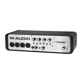 美奥多(M-AUDIO) M-Track QUAD-New  专业录音外置USB声卡 4进4出