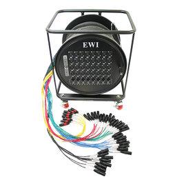 EWI RPPX-32-12-200 32路 200英尺 舞台多芯信号线缆车 带轮
