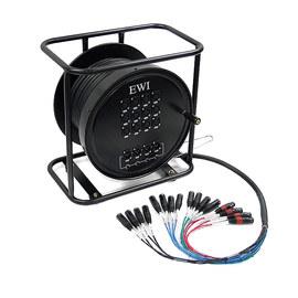 EWI SPPX-12X4-150 12路 150英尺 舞台多芯信号线缆车