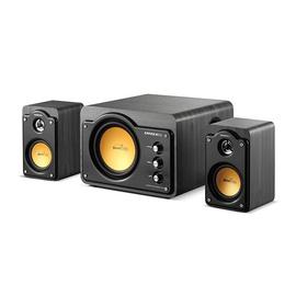 雅兰仕(EARISE) AL-929 多媒体2.1声道木质电脑音箱 低音炮音箱