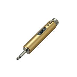 其它 GCB050 6.3单声道转XLR(母卡侬)转换器 短