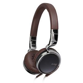 杰伟世(JVC) HA-SR75S 复古金属皮革魔音头戴式耳机 (棕色)