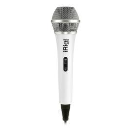 IK(IK-Multimedia) iRig Voice 电容式手机直播K歌麦克风 (白色)