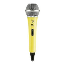 IK(IK-Multimedia) iRig Voice 电容式手机直播K歌麦克风 (黄色)