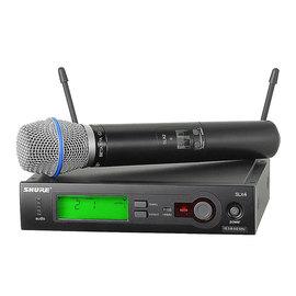 舒尔(SHURE) SLX24/BETA87A KTV/演出手持式无线动圈麦克风