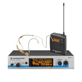 森海塞尔(Sennheiser) EW572G3/HSP2 KTV/演出头戴式无线乐器套装系统