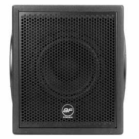 bfaudio BF -8S 8寸有源家庭KTV音响家用卡拉OK低音音箱 黑色(只)