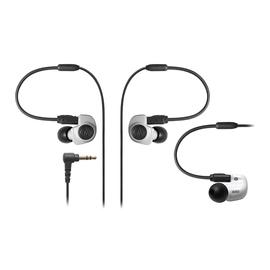 铁三角(Audio-technica) ATH-IM50 双动圈监听耳塞 可换线耳机 (白色)