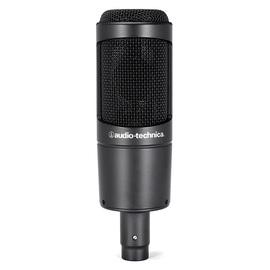 铁三角(Audio-technica) AT2035 电容式录音麦克风(黑色)