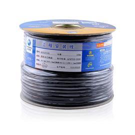 秋叶原(CHOSEAL) Q151A 双芯音频工程安装线 话筒线(米)