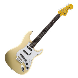 斯奎尔(Squier-Fender) 030-1226-541 SQ VM STRAT 70S 玫瑰木指板 电吉他 复古黄