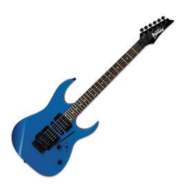 依班娜(Ibanez) 电吉他品牌 GRG270 流行 摇滚 双摇电吉他 (蓝色)