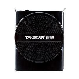 得胜(TAKSTAR) E188M 教学 插卡U盘 导游 腰挂扩音器 (黑色)