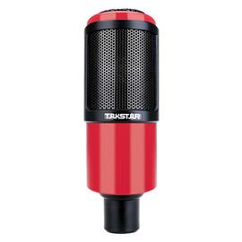 得胜(TAKSTAR) PC-K320  电容式录音麦克风 (红色)