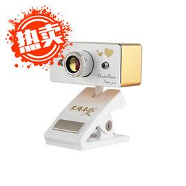 不得不爱 TR350 自拍神器土豪金高清不变色红外线摄像头带录像功能