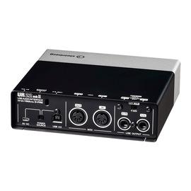 雅马哈(YAMAHA) steinberg UR22 MK II 二代 专业录音外置USB声卡(已停产,替换型号:UR22C)
