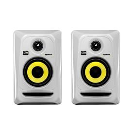 卡尔卡(KRK) 美国品牌Rokit4 G3/RP4G3 4寸有源专业录音室监听音箱(白色一对装)(原型号已停产,替换型